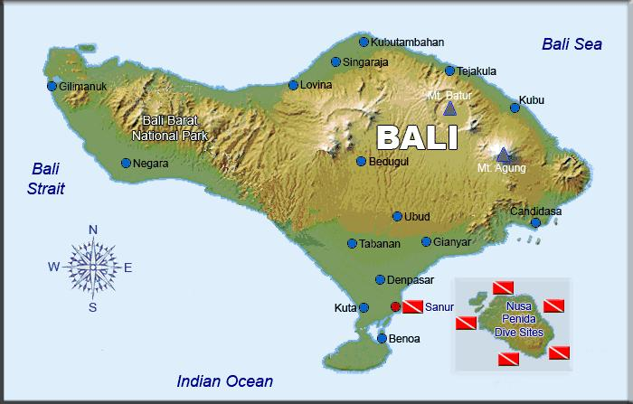 Map Of Asia Bali.Bali Included In The Best Islands Of Asia Bali Sunshine Tour And
